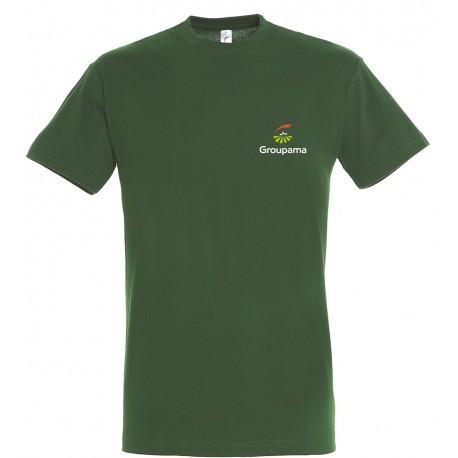 T-shirt coton couleur GROUPAMA