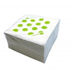 Lot 100 pièces serviettes papier groupama