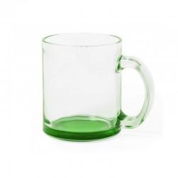 Mug 35cl verre transparent marqué GROUPAMA